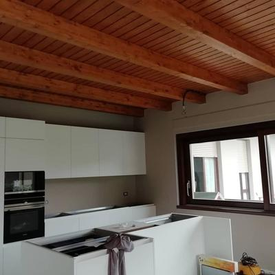 plafone in legno - appartamento