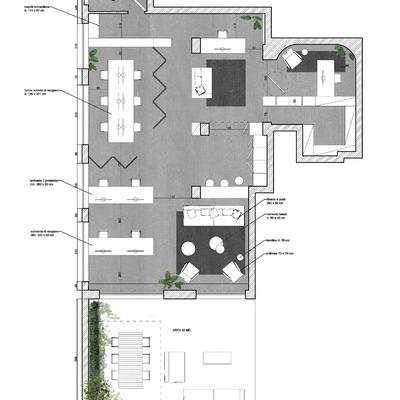 Progetto loft destinazione ufficio