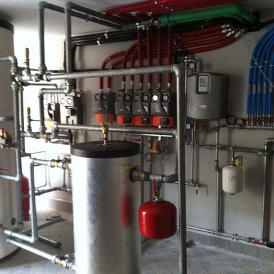 Progetto di Riqualificazione energetica di una villa a Latina
