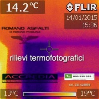 Progetto rilievi con termocamera a Napoli (NA)