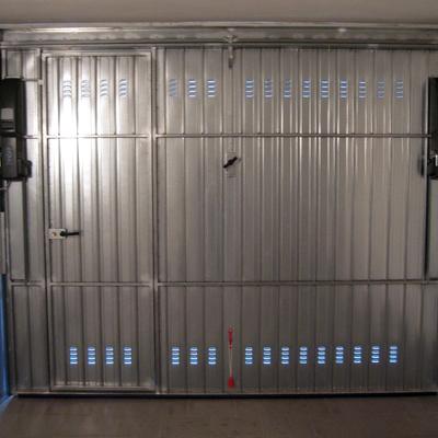 Come registrare una porta basculante for Sandrini serrande