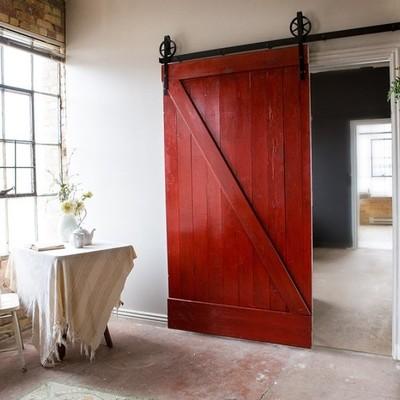 Idee e foto di porte scorrevoli fai da te per ispirarti - Porta scorrevole esterna fai da te ...