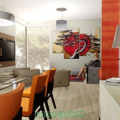 Progetto distributivo casa a due piani in Como