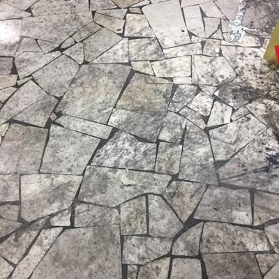 Sgrossamento pavimento fabbrica