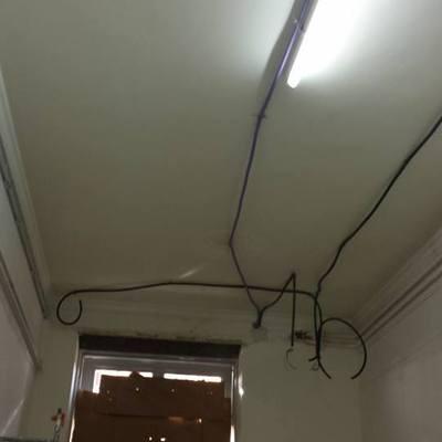 Progetto camera da letto con controsoffitto in pendenza a Melito di Napoli (NA)