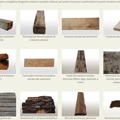 Travature in legno secolare