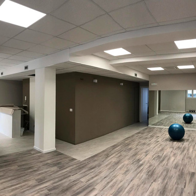 Progettazione e Realizzazione centro Fisioterapico