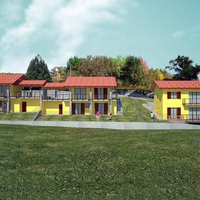 Progetto e realizzazione di tre unità residenziali.