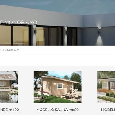 Progetti case monopiano