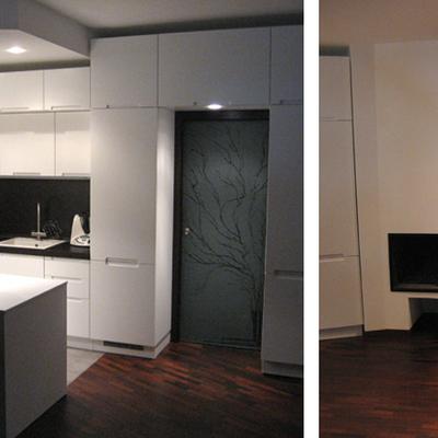 Progetto ristrutturazione di appartamento su due livelli a Milano (MI)