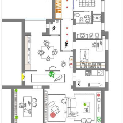 Progetto per Studio di Interior designer