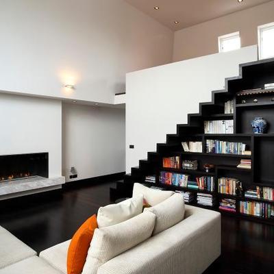 Progetto di restyling zona living appartento in Londra (Gran Bretagna)