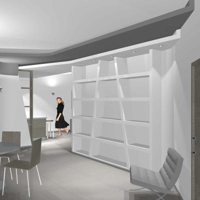 Progetto di ristrutturazione di un appartamento - SOLUZIONE B