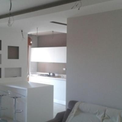 Progetto e ristrutturazione casa roma  cinecitta