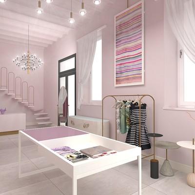 Progetto creativo per negozio Abbigliamento e Accessori