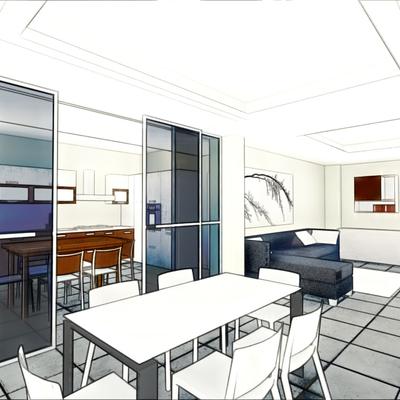 Architetto claudio d 39 onofrio avellino for Progetto appartamento moderno
