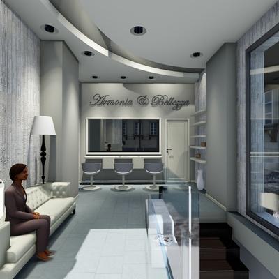 Progetto per la realizzazione di un salone per parucchiere