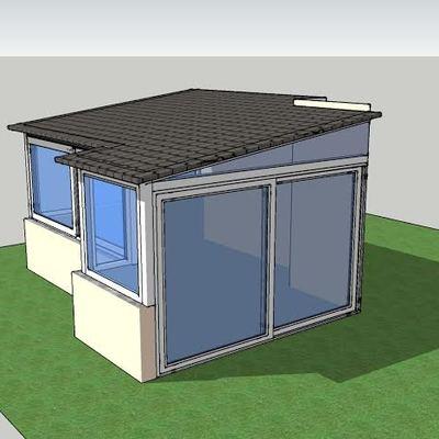 Progetto di Realizzazione Veranda su Terrazza