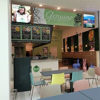 Realizzazione Punto ristoro Centro commerciale i Viali Shopping Park - Nichelino ( TO )