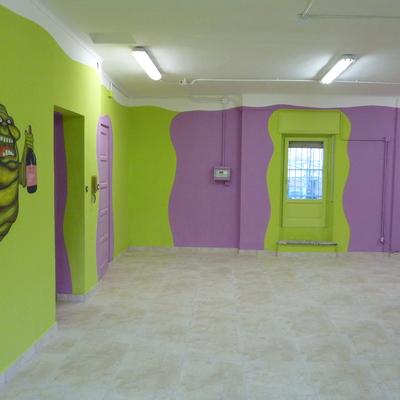 Decorazione sala giochi in provincia di Torino