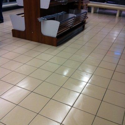 pulizia post ristrutturazione supermercato 2