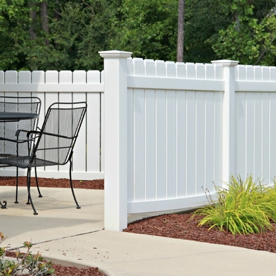 Ringhiere e recinzioni in PVC