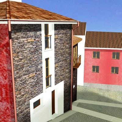Progetto per il recupero e l'ampliamento di un immobile urbano