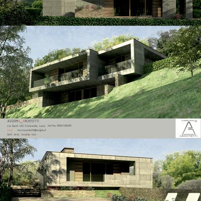 villa moderna in località Meati , Lucca