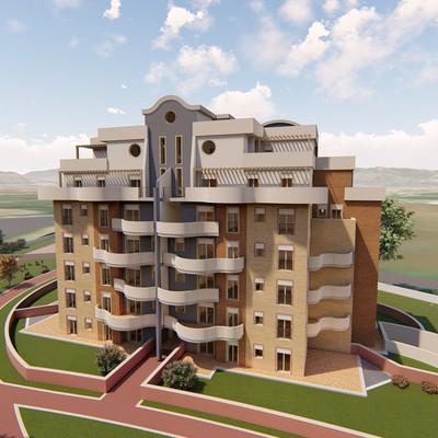 Progetto di centro residenziale In Guidonia-Montecelio (Rm)