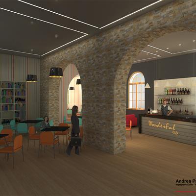 Progetto di un bar/bistrot