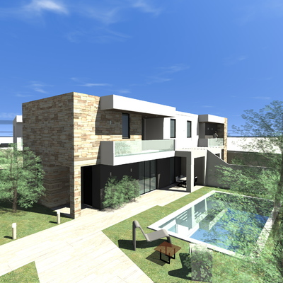 Progetto costruzione della 1^ CASA PASSIVA a Trani, in Località Schinosa (BT)