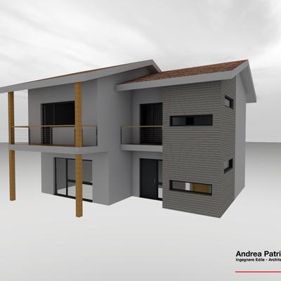 Progetto di una villetta prefabbricata in legno