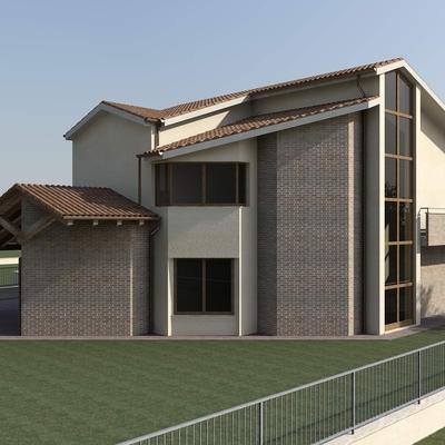 Idee in stile moderno a perugia per ispirarti habitissimo - Progetto casa fossato di vico ...