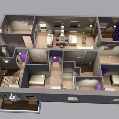 ristrutturazione interna, appartamento