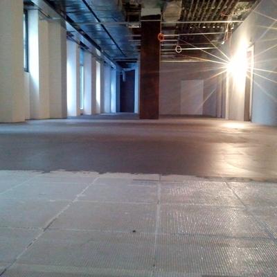 Progetto posatura pavimento in resina cementizia