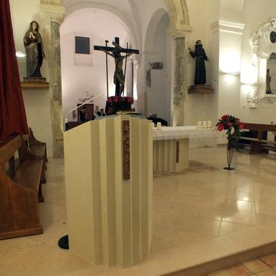 Progetto del restauro della Chiesa di S. Francesco