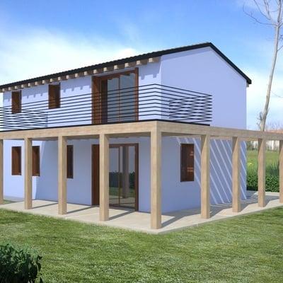 Reiter srl with ampliamento casa in legno - Ampliamento casa costi ...