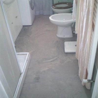 Progetto pavimento in cemento resina