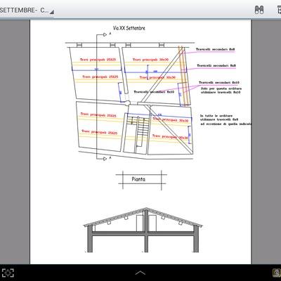Progetto di Rifacimento copertura (tetto) di un vecchio immobile