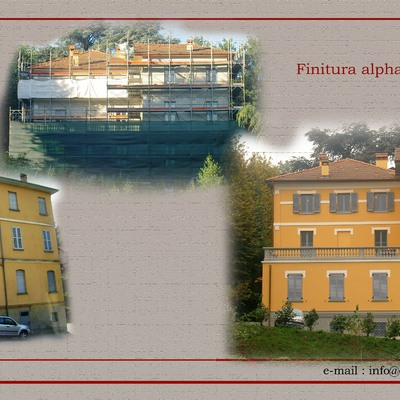 Progetto ristrutturazione Villa Castelbarco