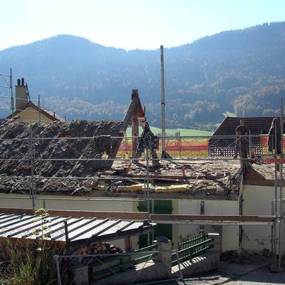 Rimozione tetto vecchio