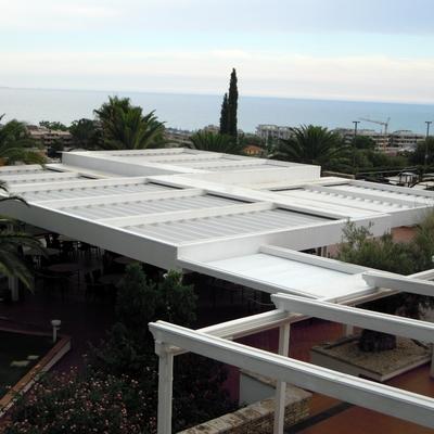 Progetto tende Ristorante Convivium di Vasto (CH)