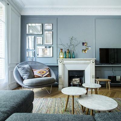 Un appartamento parigino in cui il nordico è cool