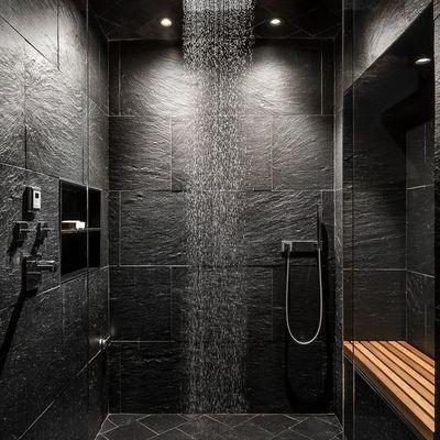 Ristrutturazione bagno, particolare doccia