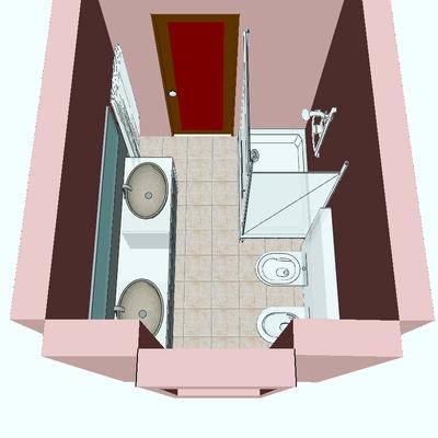 Idee di ristrutturazione bagni a lecco per ispirarti - Progetto bagno con vasca e doccia ...