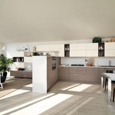 ristrutturazione cucina open space