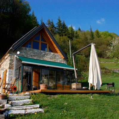Ristrutturazione di case in pietra in Alpago
