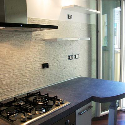 Progetto Ristrutturazione cucina moderna