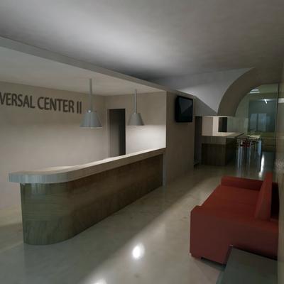 Progetto ristrutturazione e ampliamento palestra New Universal Center II