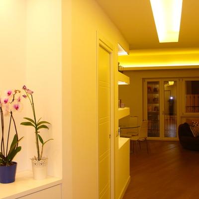 Progetto ristrutturazione integrale appartamento, zona Quadraro, Roma.